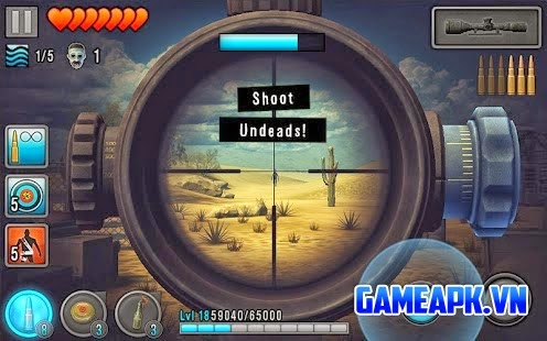 Last Hope – Zombie Sniper 3D v4.2 APK Mod cho Android
