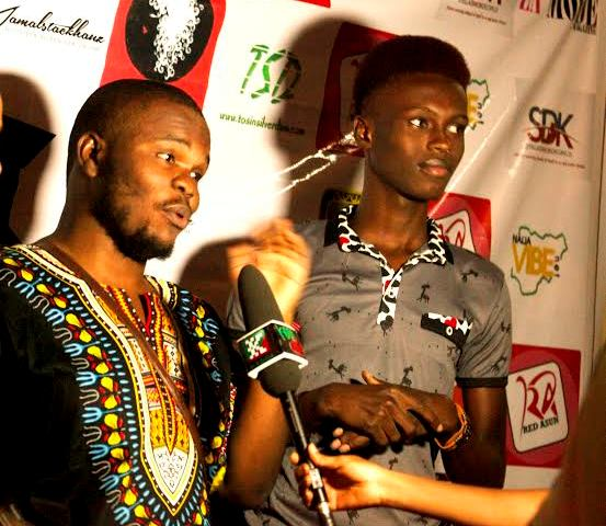 BFFs Tosin Silverdam and Onyx Godwin spotted together on a red carpet