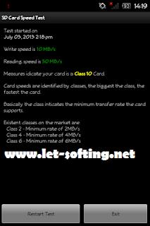 Cara Mengetahui Class Memory MicroSD