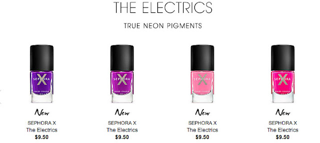 sephora x electrics
