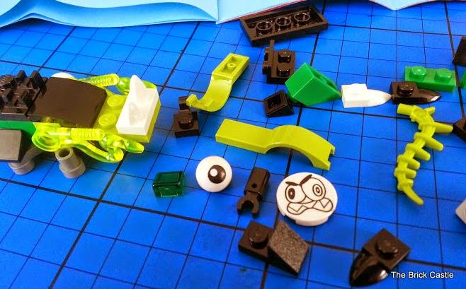 LEGO Mixels Series 3 - Glurt 41519 Glorp Corp doglike special elements
