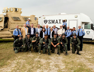 As part of an international exchange, police officers from Poland visited the Galveston Police Department in 2014.