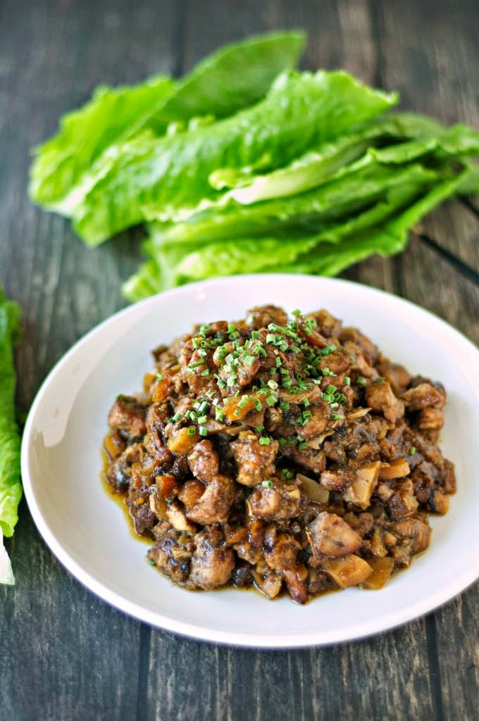 The BEST Slow Cooker Lettuce Wraps with Beef, Chicken ...