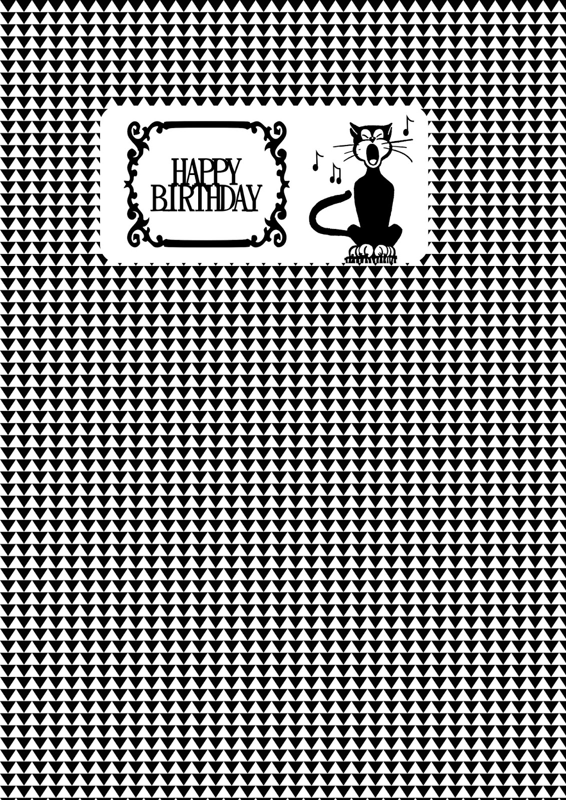 image relating to Printable Birthday Wrapping Paper referred to as Cost-free printable birthday chocolate wrap paper - ausdruckbares