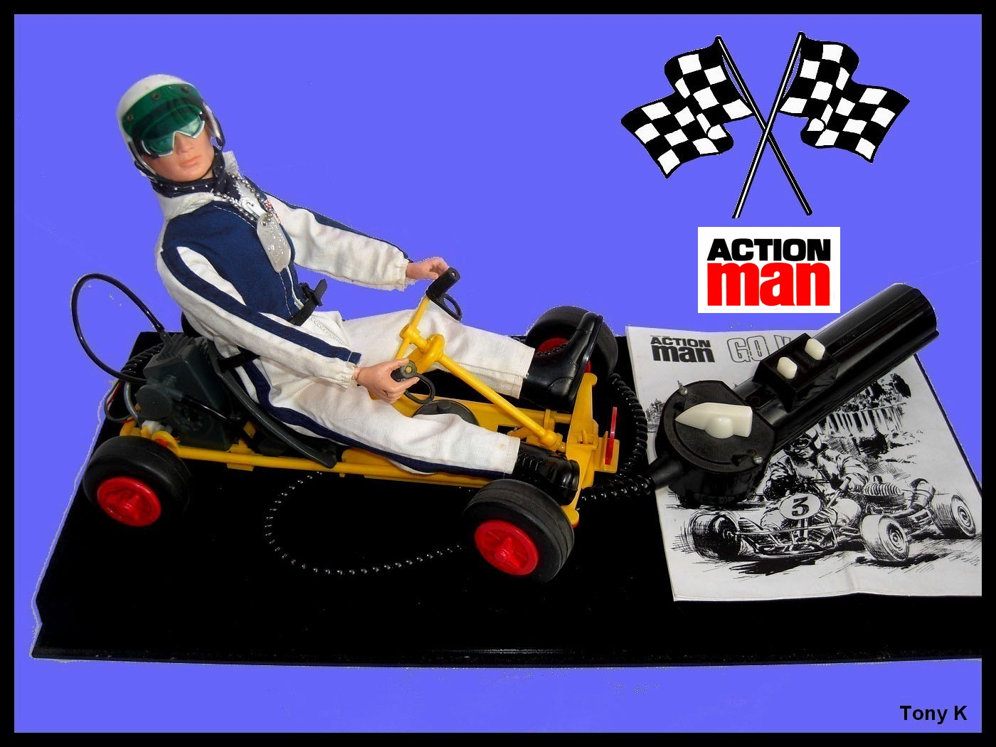 The Action Man Grand Prix F1 Racing Car Design Derives From GI Joeu0027s Yellow  1967 U0027Action Joeu0027 Action Racing Car. This In Turn Was Inspired By Real Life  ...