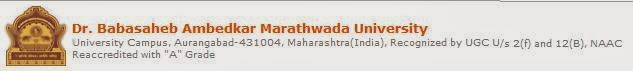 Babasaheb Ambedkar Marathwada University 2014 Results