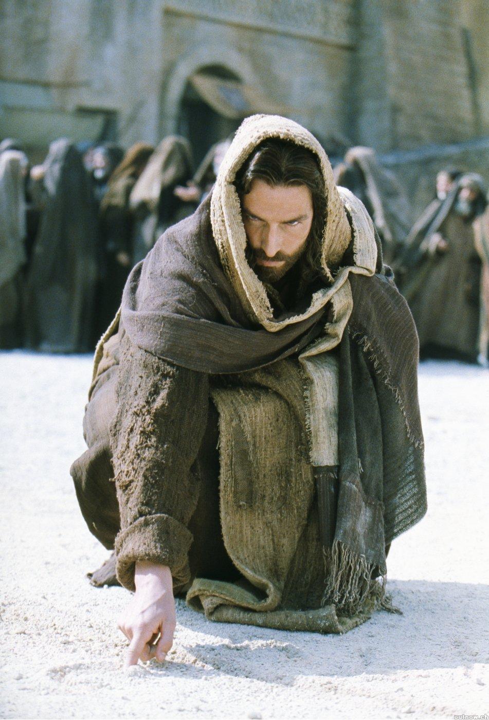 Yesus Menulis Di Tanah Dalam Kasus Wanita Zina