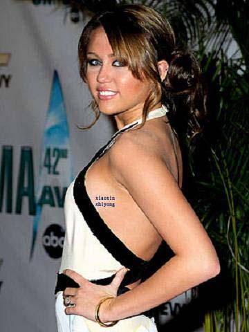 miley cyrus tattoo 2011