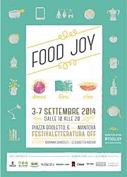 #FOODJOY io ci sarò