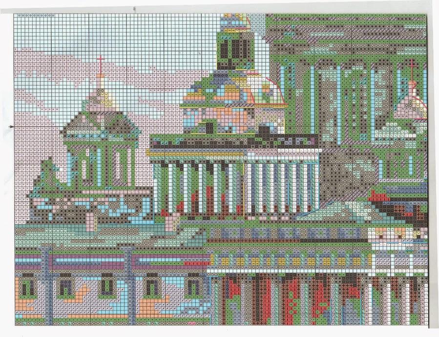Санкт-петербург адмиралтейская набережная схема вышивки 70