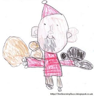 Santa by Joshua