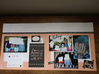 CTMH Charlotte WYW Kit Scrapbook Layouts