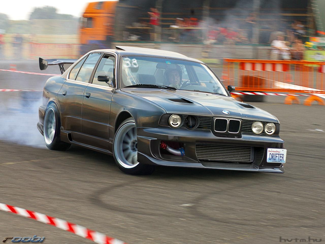 Bmw Drift Cars Drive Fire
