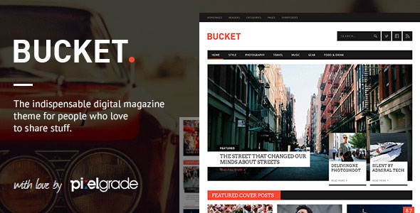 Bucket Responsive Wordpress Theme