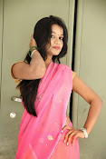 Bhavya Sri Photos in Pink Halfsaree-thumbnail-15