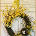 FORSYTHIA WREATH TUTORIAL