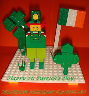 LEGO St. Patrick's Day Celebration, Cool LEGO Creation