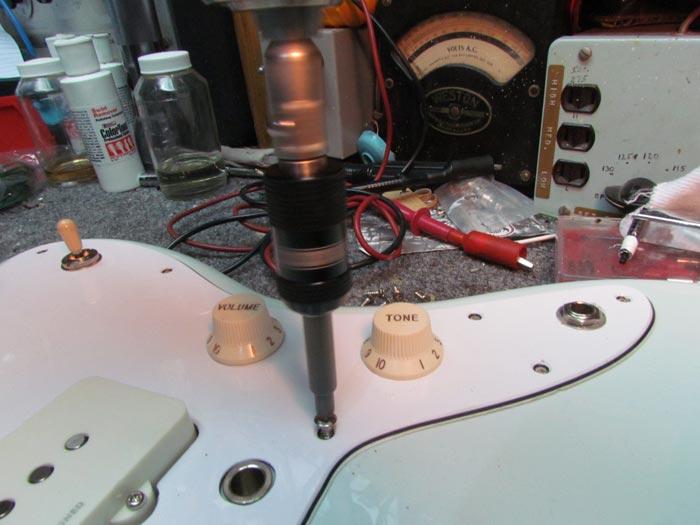 Squier Vintage Modified Jazzmaster Modifications Pt 1 Crawls