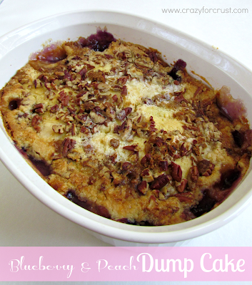 Recipe: Blueberry and peach dump cake
