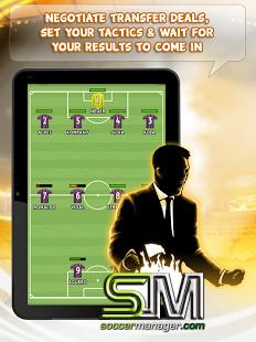 صورة من لعبة Soccer Manager
