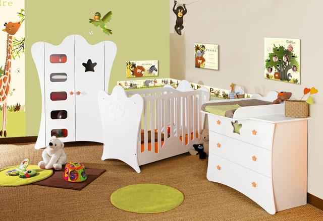 Comment decorer chambre bebe - Decorer sa chambre virtuellement ...