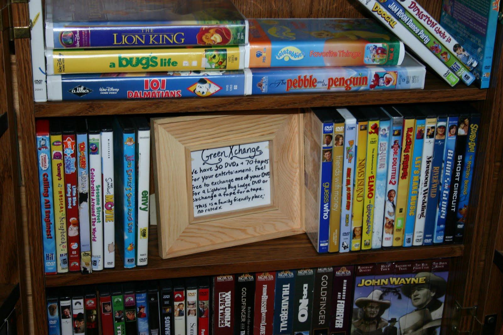 Lightning Bug Lodge The Green Exchange Lbl Dvd Library
