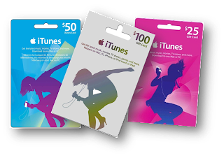 Tarjetas iTunes Gift Cards USA