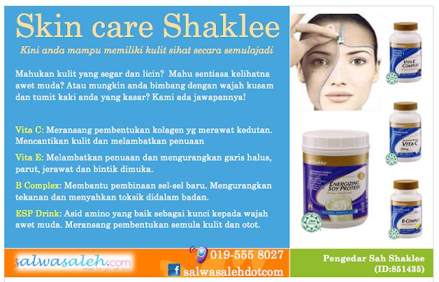 shaklee skin care, skin care set shaklee, shaklee kesihatan kulit