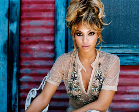 Beyonce Fashion in music life
