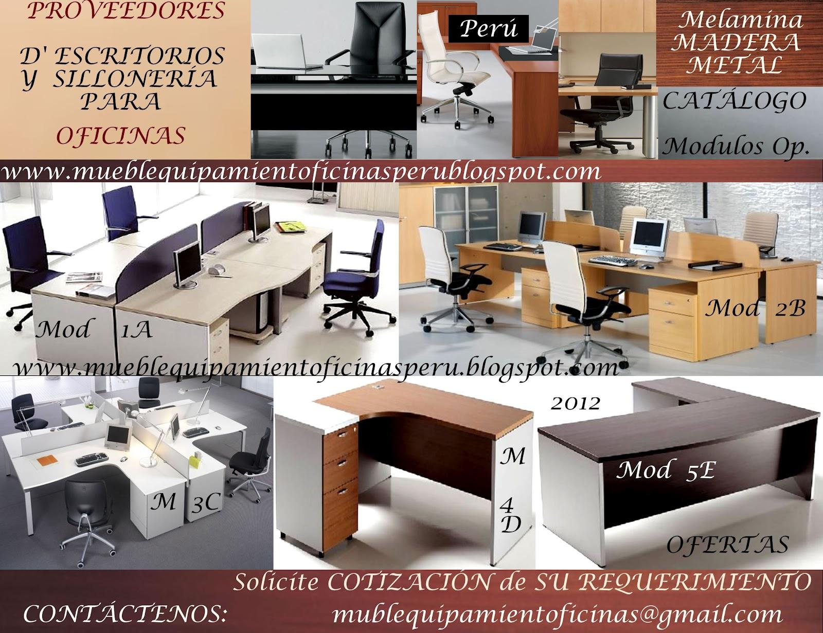 Proveedores d 39 escritorios y silloner a para oficinas for Proveedores de muebles para oficina