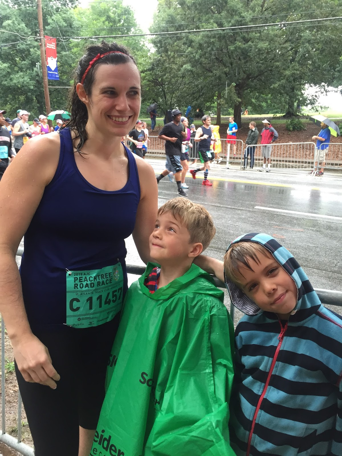 Peachtree road race results 2015 - We Took A Bunch Of Pictures And Then Walked Over To The Race So That I Could Watch Cheer For Some Of The Finishers