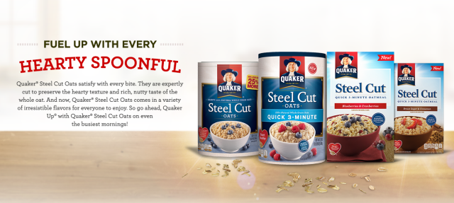 Image result for Quaker Steel Cut Oatmeal