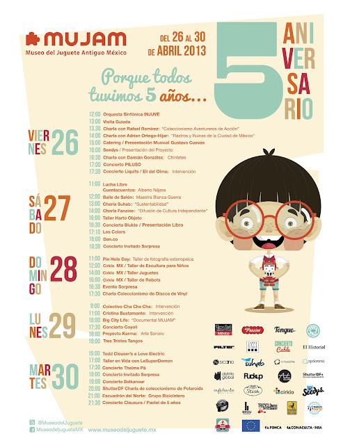 Quinto Aniversario del Museo del Juguete Antiguo México