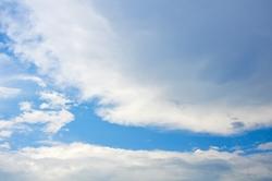 Gereinigter Himmel im Westen...