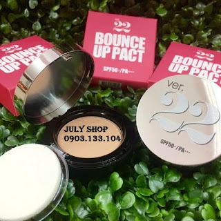 phan tuoi Ver 22 Chosungah Bounce Up Pact SPF 50pa