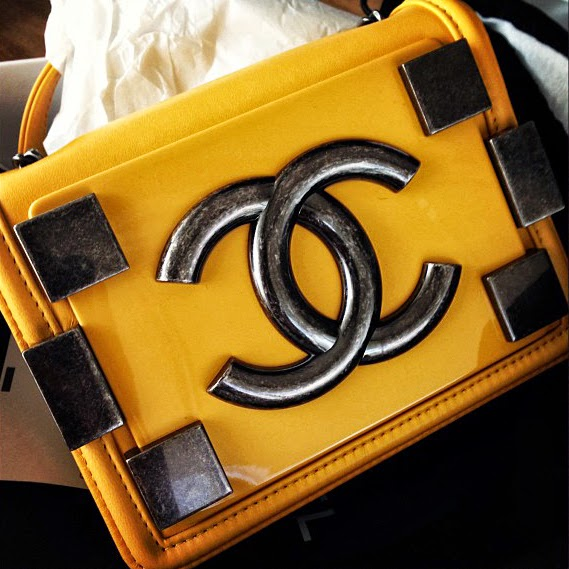 The Chanel Boy Bag Feather Factor