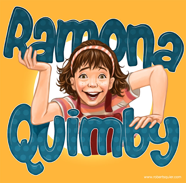 Ramona Quimby Show Poster title=