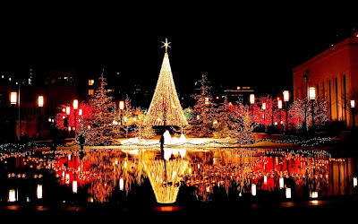 Christmas, tree, lights, Babylon, pagan
