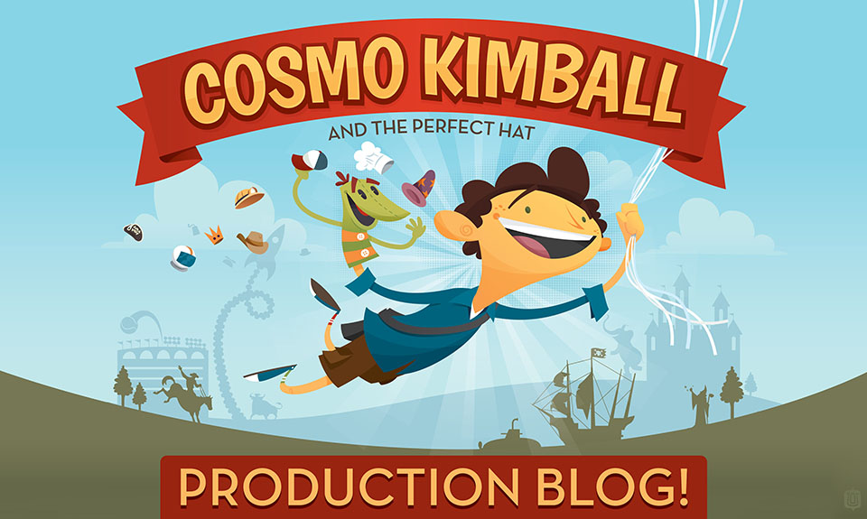 The Cosmo Kimball Production Blog!