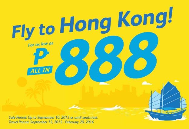 Cheap Trip to Hongkong Cebu Pacific Promo Ticket