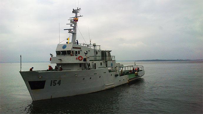 ARC Gorgona de la Armada Nacional de Colombia.