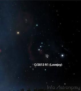 Lihat Komet Lovejoy di Atas Komet ISON Sebelum Fajar
