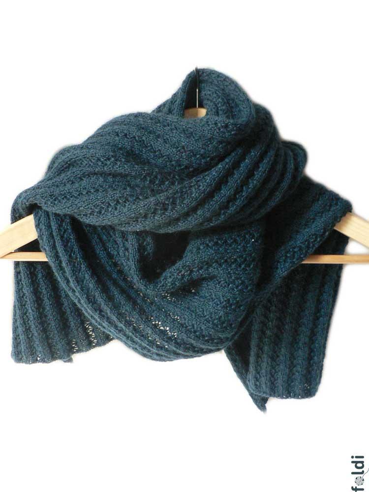Knitting Patterns Mohair Scarves : foldi: Mohair blend scarf