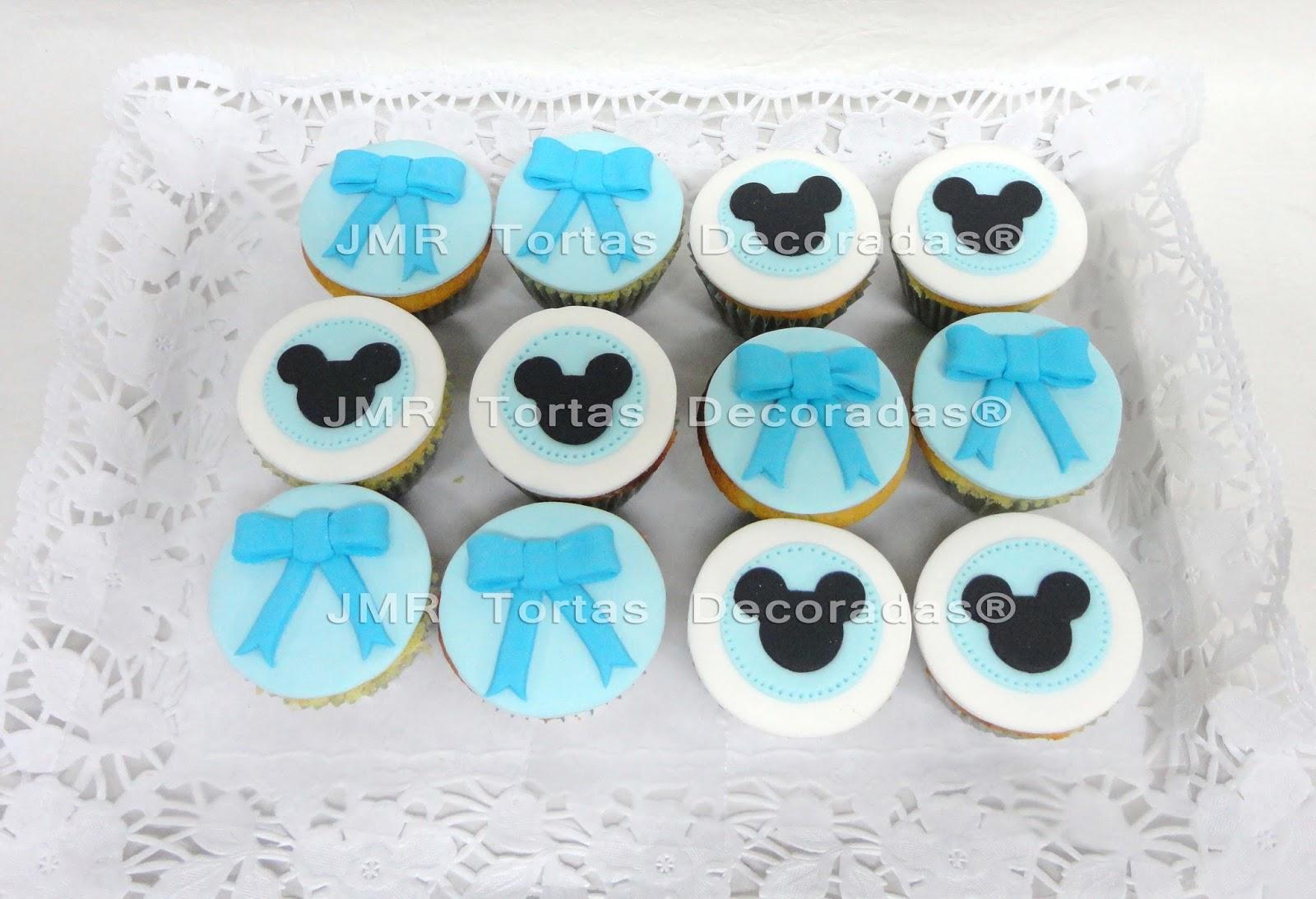 Baby Mickey Cupcakes Torta cupcakes y cookies baby