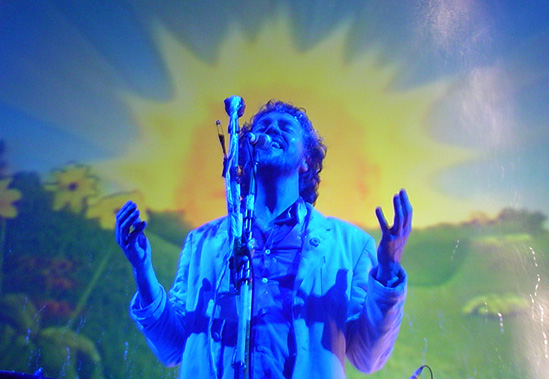 Wayne Coyne, cantante de The Flaming Lips