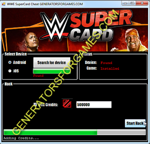 how to use wwe supercard cheat codes