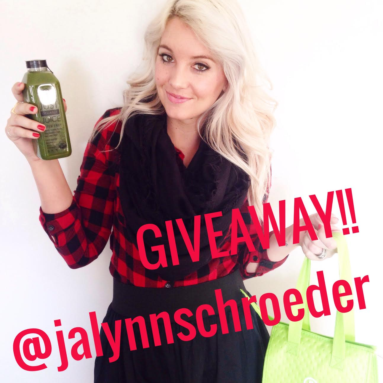 Just Organic Juice Giveaway Amp Wiwt Link Up The Red