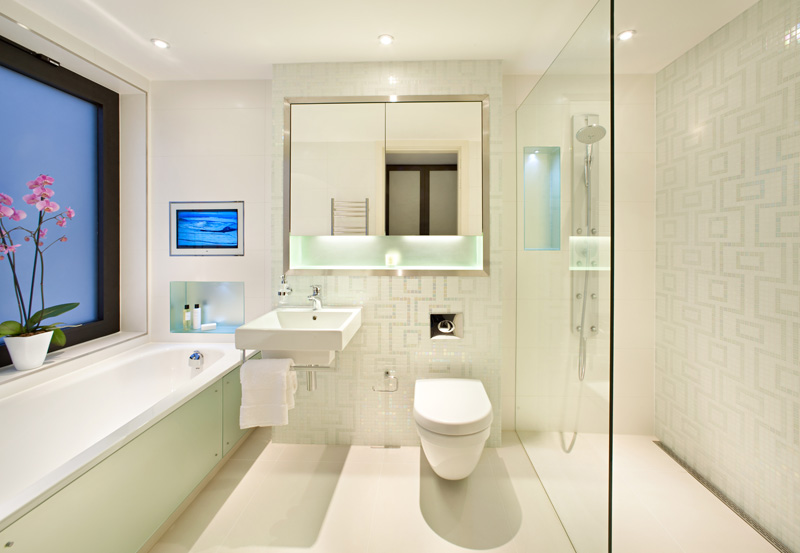Modern bathrooms designs modern home designs for Cool modern bathrooms