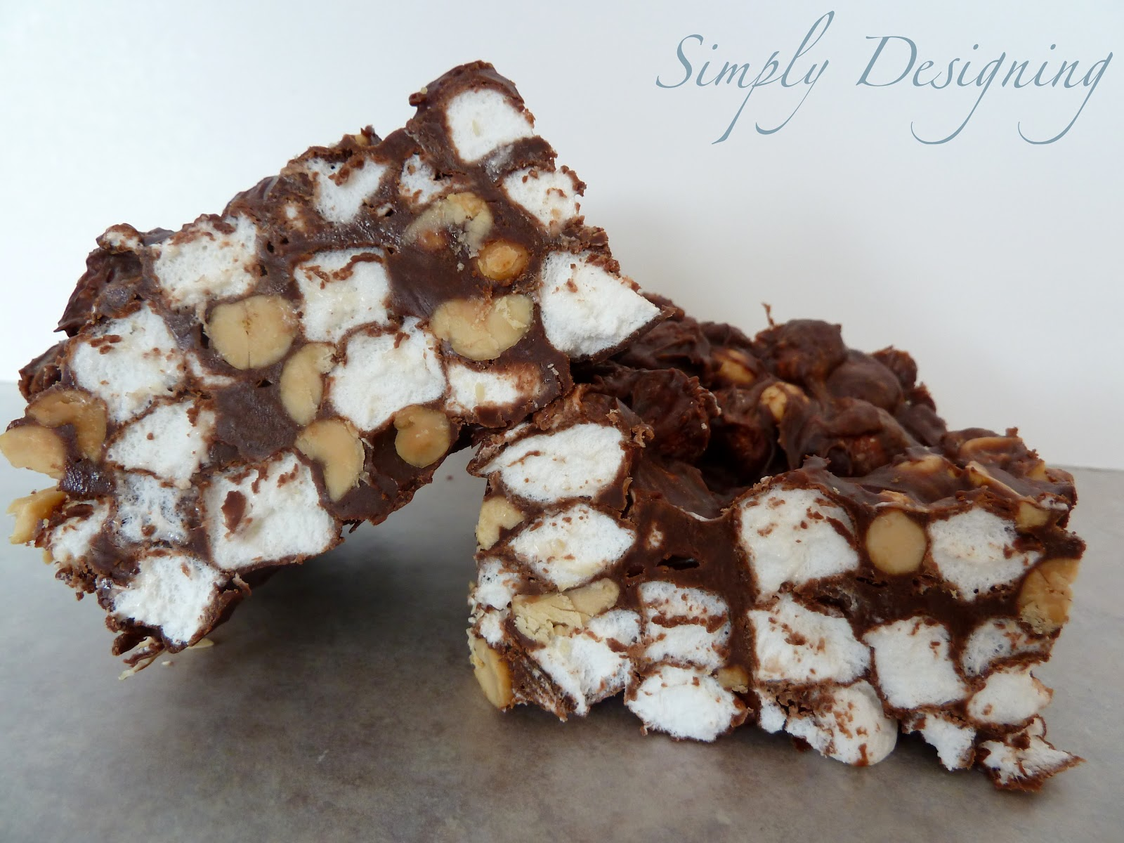 Rocky Road Fudge - Simply Designing with Ashley