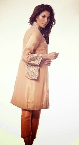 Ayesha Somaya Winter Formal Dress for Girls